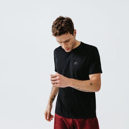 KALENJI - M Kalenji Dry Men's Breathable Running T-Shirt - Black