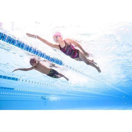 NABAIJI - 500 silicone swim cap black