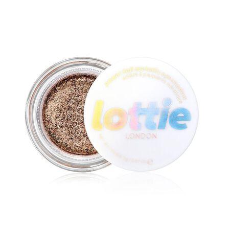 LOTTIE - Lottie Power Foil Unphased Eyeshadow Pot Bronze