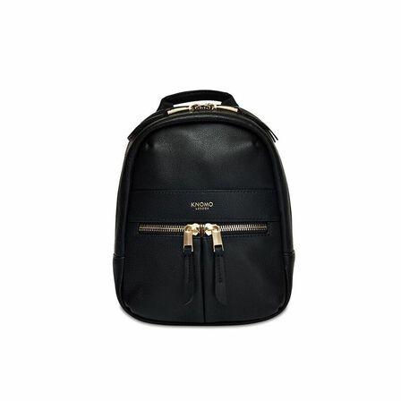 KNOMO - Knomo Beauchamp XXS Backpack/Cross-Body Black/Gold Hardware