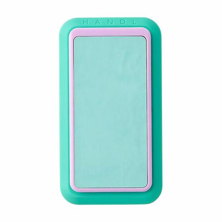 HANDL NEW YORK - Handl New York Glow In The Dark Grip & Stand Blue/Turquoise for Smartphones