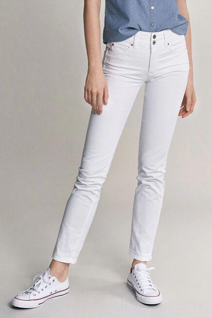 Salsa Jeans - White Secret push in slim jeans