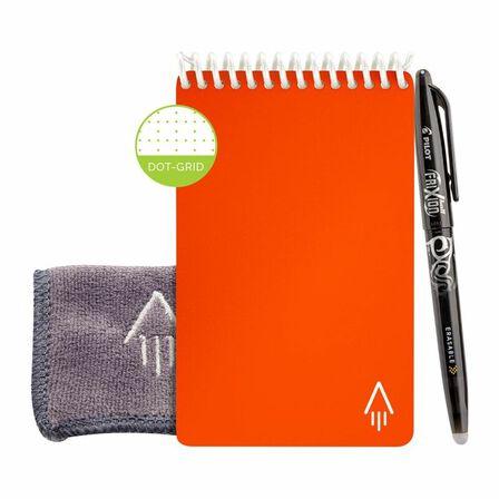 ROCKETBOOK - Rocketbook Core Mini Dot Beacon Orange Notebook