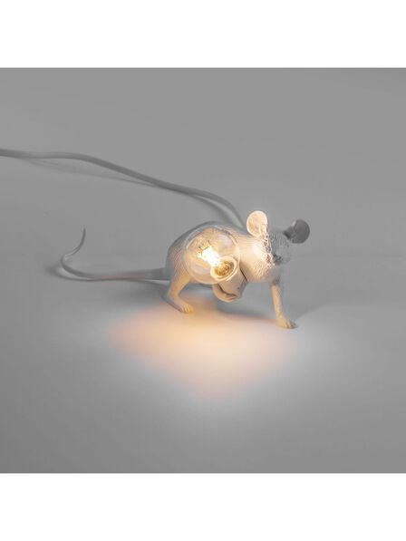 Seletti - Mouse Lamp White Lop