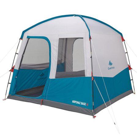QUECHUA - Unique Size  6 person camping living area - Arpenaz base M, Dark Blue