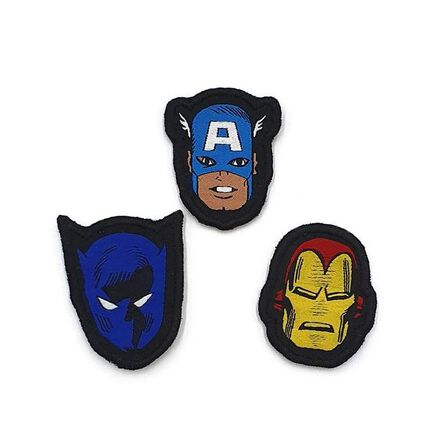 FABRIC FLAVOURS - Fabric Flavours Avengers Trio Badges [Pack of 3]