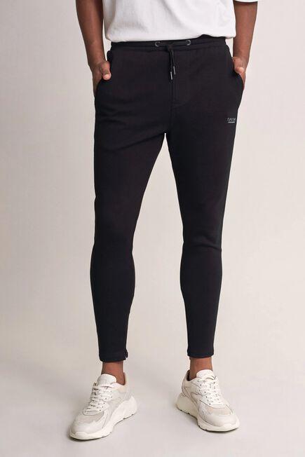 Salsa Jeans - Black Karl loose slim joggers with drawstring