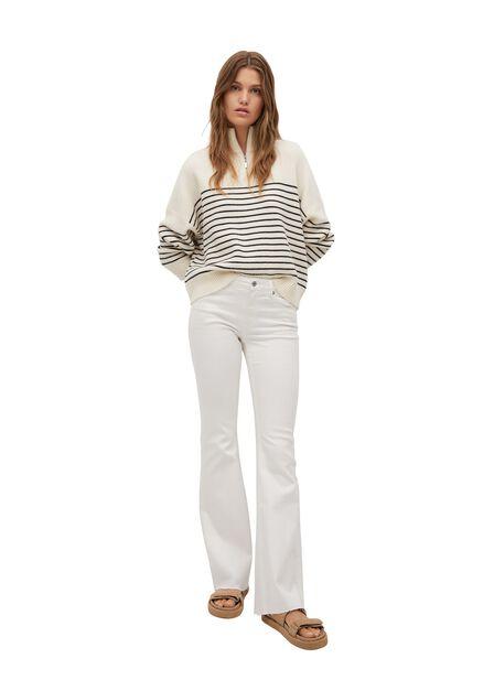Mango - white Flared jeans Flare, Women