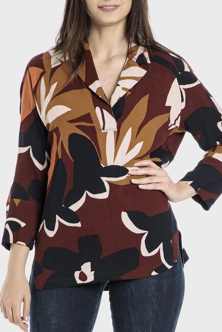 Punt Roma - Leaves blouse