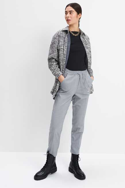 Mohito -  Jogger Type Trousers - Grey