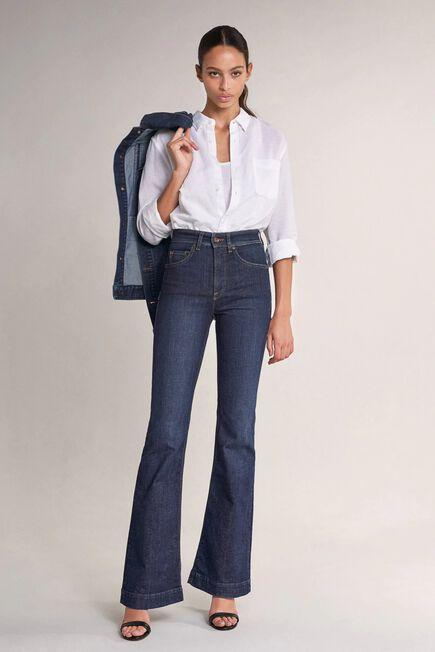 Salsa Jeans - Blue Secret glamour push in flare jeans