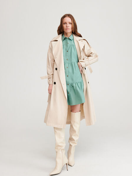 Reserved - Turquoise Shirtdress