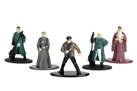 JADA TOYS - Nano Metalfigs Harry Potter Figures Wave 1.2 [Set of 5]