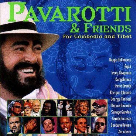 DECCA - Pavarotti & Friends For Cambodia & Tibet Volume 7   Luciano Pavarotti