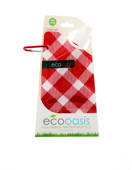 SMART PLANET - Smart Planet Eco Oasis Foldable Water Bottle Assorted