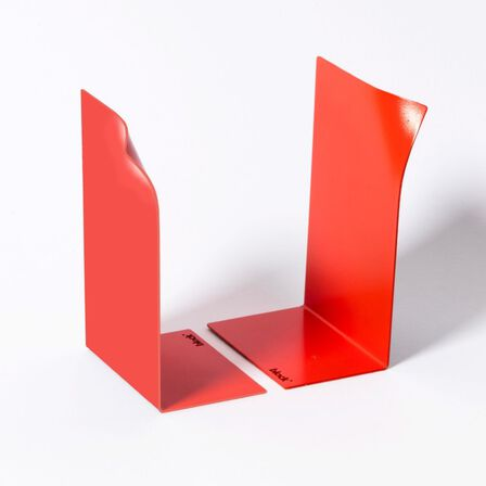 BLOCK - Block Page Book Ends Red