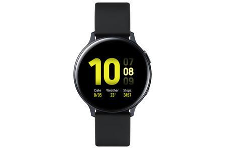 SAMSUNG - Samsung Galaxy Watch Active 2 44mm Aluminium Black