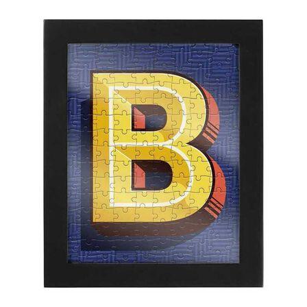 RIDLEYS - Ridleys Alphabet Jigsaw Puzzle with Frame Letter B