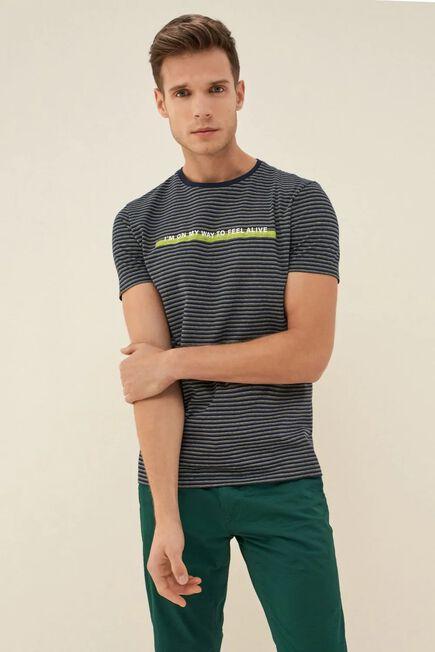 Salsa Jeans - Blue Dry denim2GO t-shirt