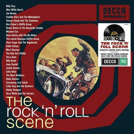 UNIVERSAL MUSIC - The Rock & Roll Scene Limited Edition (2 Discs) | Various Artists