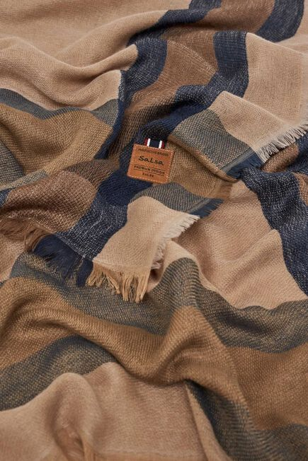 Salsa Jeans - Beige Checked scarf