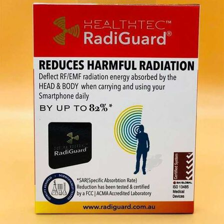 RADIGUARD - Radiguard Anti Radiation Sticker