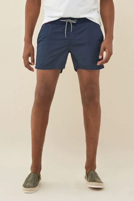 Salsa Jeans - Blue Swimming shorts with side band