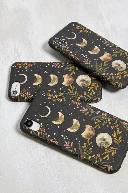 Urban Outfitters - Black Moonlight Garden IPhone 6/6S/7/8 Case