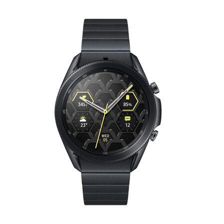 SAMSUNG - Samsung Galaxy Watch 3 Titanium Edition 45mm Absolute Black