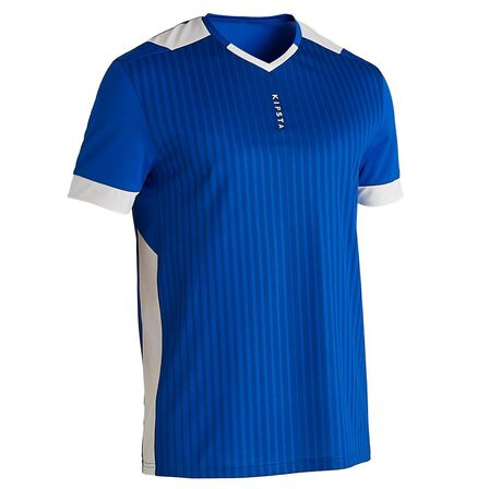 KIPSTA - Medium  F500 Adult Football Shirt, Bright Indigo