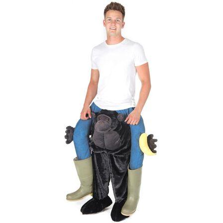 BODYSOCKS - Bodysocks Piggyback Premium Gorilla Costume for Adults