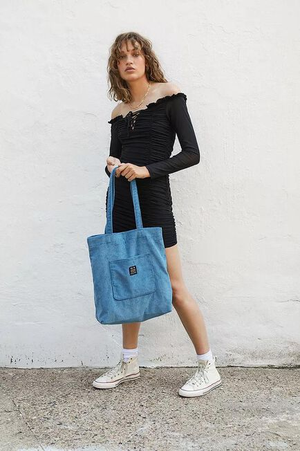 Urban Outfitters - SLTE UO Corduroy Pocket Tote Bag