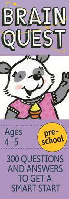 WORKMAN PUBLISHING USA - Brain Quest Preschool Revised 4Th Ed