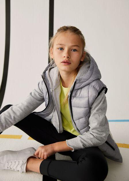 Mango - lt pastel grey Organic cotton sweatshirt