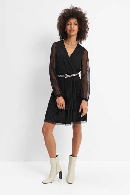 Mohito - Ladies Dress With Belt - Black