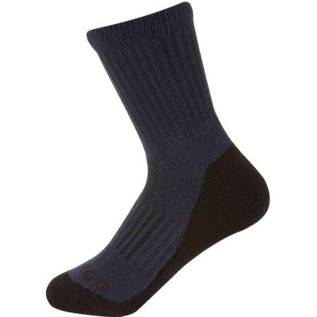 ARTENGO - Rs 500 junior high racket sports socks tri-pack - navy