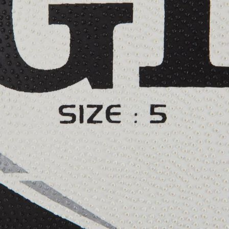 KIPSTA - Gtr 4000 size 5 rugby ball - black