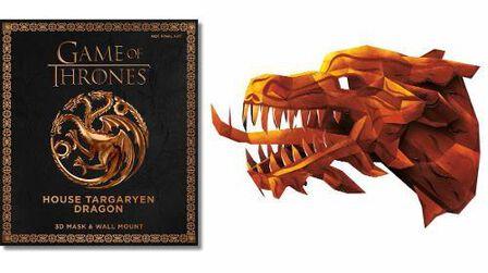 CARLTON BOOKS LTD UK - Game of Thrones House Targaryen Dragon