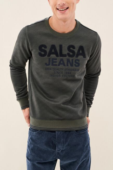 Salsa Jeans - Green Shirt, Regular Fit, With Label