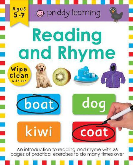 PRIDDY & BICKNELL - Reading And Rhyme