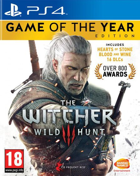 CD PROJEKT - The Witcher III Wild Hunt - Game of the Year Edition - PS4