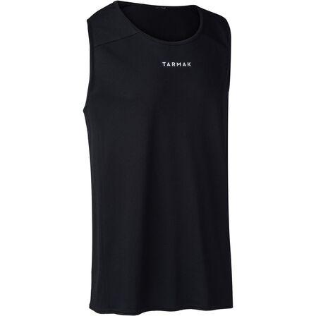 TARMAK - M B300 Adult Basketball Jersey - Black