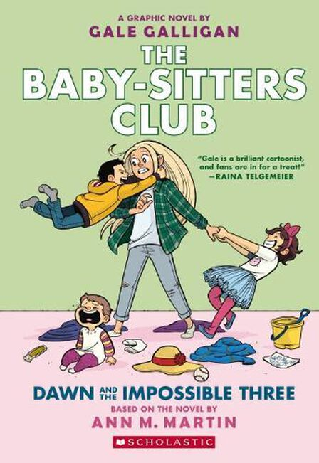 SCHOLASTIC USA - Baby-sitters Club Graphix #5 Dawn and the Impossible Three