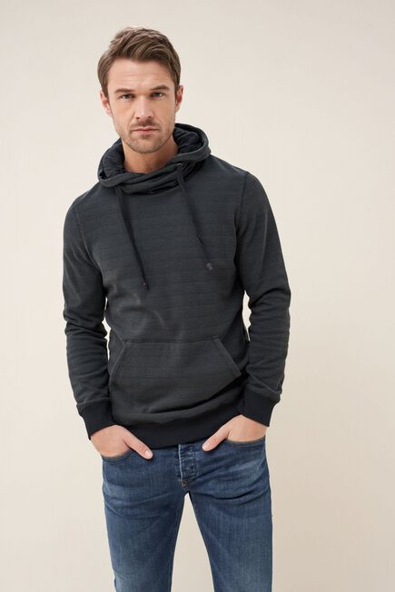 Salsa Jeans - Gray Sweater with drawstring collar