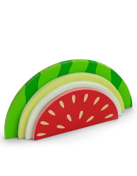 MUSTARD - Mustard Watermelon Shaped Sticky Notes [150 Sheets]