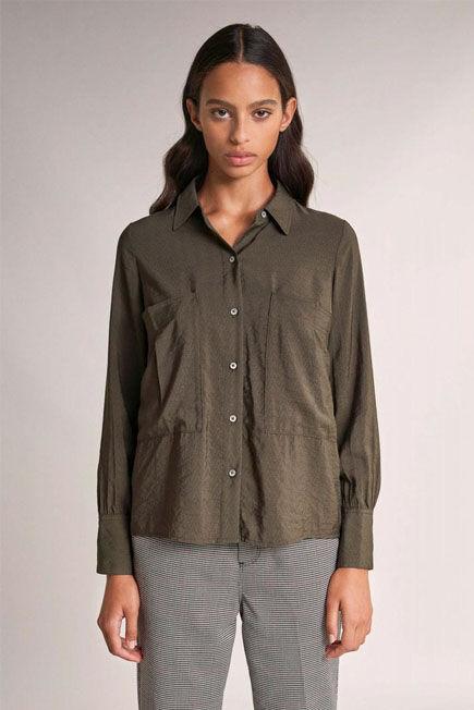 Salsa Jeans - Green Regular fit plain shirt