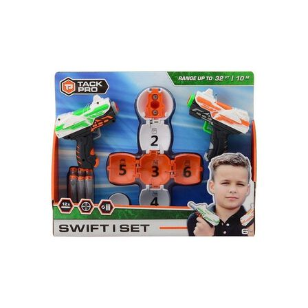TACK PRO - Tack Pro Swift I Set With 14 Darts And Target Ball