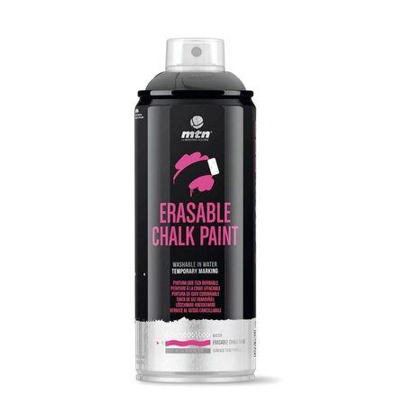 MONTANA COLORS SL - Montana Colors Pro Paint Erasable Chalk Spary Paint 400ml Black