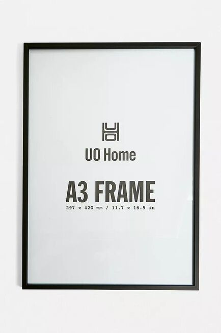 Urban Outfitters - Black Aluminum A3 Frame