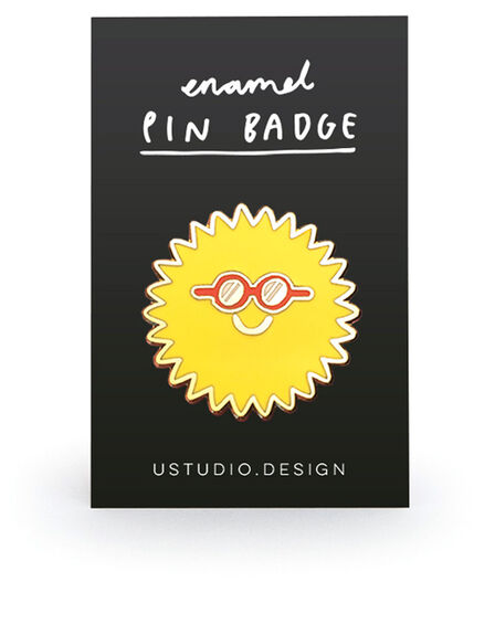 USTUDIO DESIGN LTD - Ustudio Pin Badge Sunglasses
